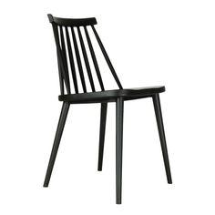 Issie Olize eetkamerstoel - Kunststof - Zwart Plastic Dining Chairs, White Dining Chairs, Outdoor Chairs, Outdoor Furniture, Outdoor Decor, D 40, Clever Design, Retro Design, Kitchen Living