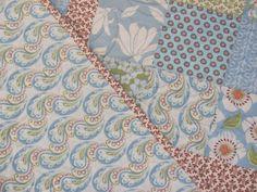 Baby Quilt in Verna by Kate Spain in Blue by DownRightCharming, $75.00