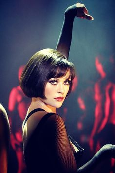 Catherine Zeta Jones as Velma Kelly in Chicago...she stole the show