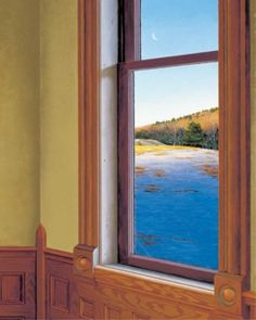 """""""Spring Light"""" by Edward Gordon. 16"""" X 13."""" Giclee on Paper.  Available at www.maine-art.com"""