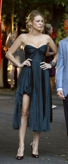 Blake Lively in J. Mendel, Season Three, Episode Five