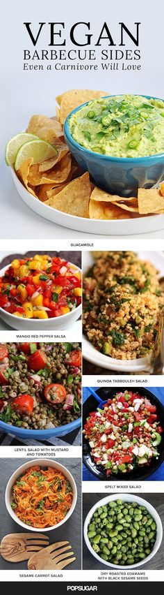 31 Vegan Barbecue Sides That Will Definitely Impress Meat Eaters - 'Tis the season of camping, grilling, and backyard parties. While classic barbecue sides like pot - Barbecue Sides, Barbecue Side Dishes, Barbecue Recipes, Barbecue Sauce, Grilling Recipes, Grill Barbecue, Tailgating Recipes, Barbecue Chicken, Camping Recipes