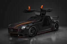 Mercedes-Benz SLS - BRABUS by ~vacuita on deviantART