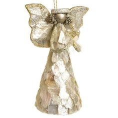 Capiz Shell Angel Ornament http://shop.crackerbarrel.com/Capiz-Shell-Angel-Ornament/dp/B013H3QC8K