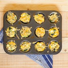 AliCat: Mushroom, Spinach & Feta Egg Cups
