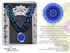 Mandala  Accesorios con Energía  Omsrima Copyright © 2013   Mas Informacion y Pedidos onshirman@gmail.com Facebook / Omsrima Mandala Energia Vital Jewellery Crochet Earrings, Facebook, Jewelry, Accessories, Jewellery Making, Jewerly, Jewelery, Jewels, Jewlery
