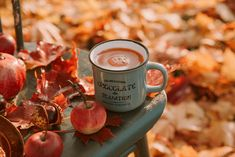 """6 Autumn-Flavored Drinks You'll """"Fall"""" In Love With! Fall Recipes, New Recipes, Starbucks Ceramic Mug, Apple Images, Biscuits, Apple Picture, Best Christmas Cookies, Green Fruit, Weekend Fun"""