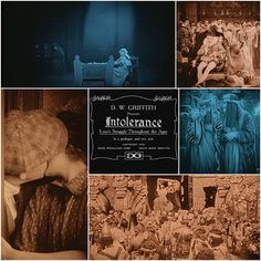 """INTOLERANCE"" di David Wark Griffith. USA 1916."