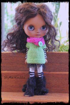 Blythe Chunky Oversized Sweater/Top & Scarf