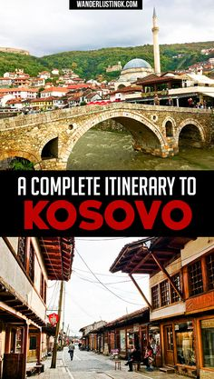 Planning a trip to Kosovo? A complete itinerary for your Balkan trip for Kosovo! Find out hte best places to visit in Kosovo & best day trips from Pristina. Cool Places To Visit, Places To Travel, Travel Destinations, European Destination, European Travel, Budapest, Serbia Travel, Europe Travel Guide, Travel Guides
