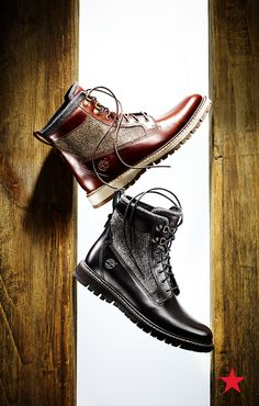 If you want a utility boot for the cold weather, make it a cool leather one