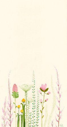 Картинка с тегом «flowers, background, and iphone»