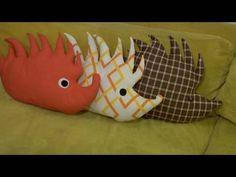 Make a Hedgehog Plushie by decorityourself #Hedgehog #DIY #decorityourself