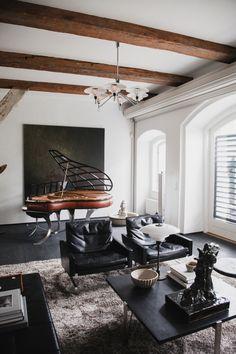 The White Room: Klassik Copenhagen Christianshavn Terrace House
