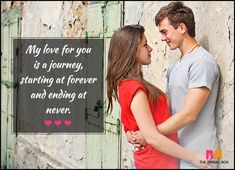 Love Quotes For Her - Ending At Never