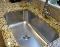 Undermount Stainless Steel Seamless Sink Kitchen