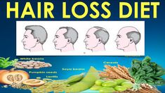 Hair Loss Diet / What to eat for healthy hair - Hair fall treatment with...