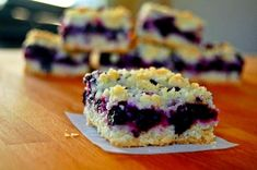 Blueberry Bars (3 Points ) | Weight Watchers Recipes