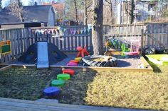 must recreate a backyard like this!   How absolutely fantastic!