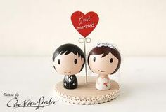 bride and groom cake toppers - Google Search