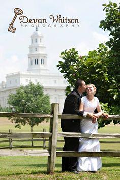 Nauvoo Illinois Wedding Photo