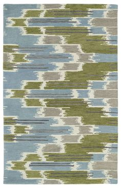 Kaleen Global Inspirations GLB02 Wasabi Rug | Contemporary Rugs #RugsUSA