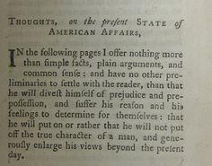 Common Sense, by Thomas Paine Thomas Paine, American Revolution, Common Sense, Facts, Thoughts, Ideas