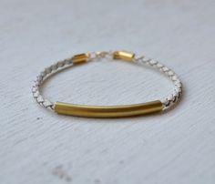 faye rope bracelet ++ goldhearted