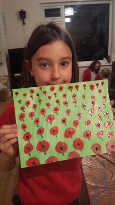 Watercolour and acrylic poppies.