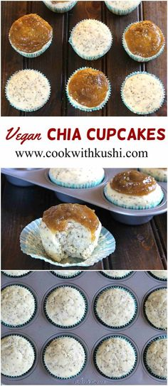 Chia cupcakes are super delicious vegan treats to light up any party. The…