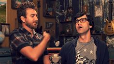 When Link's head went the opposite direction from the way Rhett 'slapped' him.