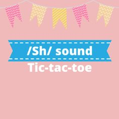 Boom Cards - Tic-Tac-Toe: /sh/ Sounds