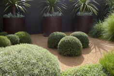 Sculptural garden by Peter Fudge, Clovelly, Sydney Australia