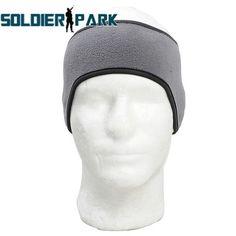 Fleece Inside Thermal Headband Windproof Balaclava Skiing Earmuffs Ear Warmer Hairband Outdoor Sports Run Headwear Hunting Caps
