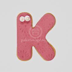 Μπισκότο Βάπτισης Μονόγραμμα Σάπιο Μήλο Cupcake Cookies, Sweets, Sugar, Gummi Candy, Candy, Goodies, Treats, Deserts
