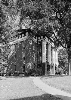 Swayne Hall, Talladega, AL was built in 1857 as a Baptist men's college. Following the American Civil War, it became a part of Talladega College, Alabama's oldest private, historically black, liberal arts college