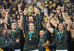 Springboks Proud Rugby World Cup Champions 2007 World Cup Champions, Rugby World Cup, South African Rugby, Sports Highlights, Tough As Nails, Sport Sport, World Cup Final, Rugby Players, Cheetahs
