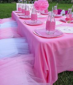 Ballerina girls party ideas