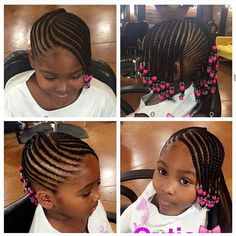 Tresse africaine pour fille Chappooo Kids braided