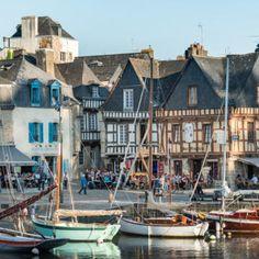 Six beautiful little Breton ports Brittany France, Kerala Tourism, Walk The Earth, Picture Postcards, Portugal Travel, France Travel, San Francisco Skyline, Travel Inspiration, Newfoundland