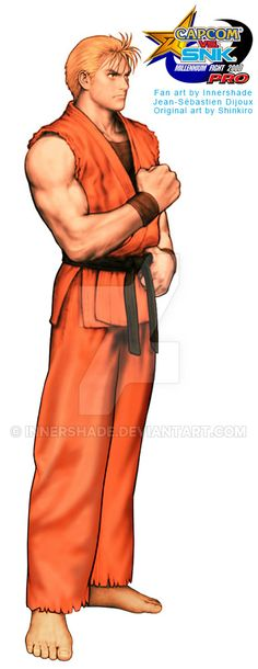 Capcom VS SNK Ryo Sakazaki Shinkiro edit by Innershade