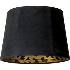 Faux Suede Animal Print Lined Shade 9.25x11.25x8 (Spider) | LampsPlus.com