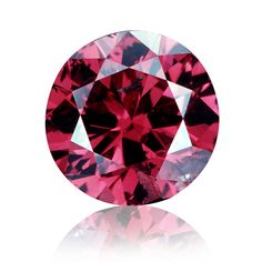 The 0.95 ct Hancock Red diamond, auctioned by Christie's New York on April 28, 1987. ©GIA & Tino Hammid