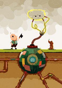 El Ordeño www.behance.net/gallery/6895177/El-Ordeno