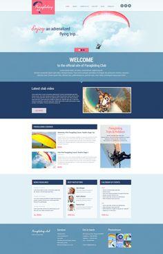 Paragliding - WordPress Theme