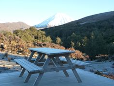 Mt Ngauruhoe from Waihohonu Hut