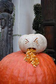 NICK PETRONZIO SCULPTURE: Halloween Pumpkin Carvings