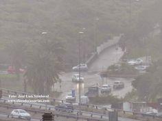 Lluvia, viento y frío Gran Canaria 15 diciembre