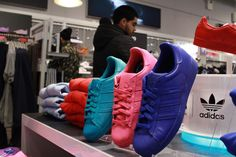 buy online be985 cf3bc Here s What Happened at the Pharrell x adidas Superstar Supercolor  Collection Release in NYC Superstar Supercolor