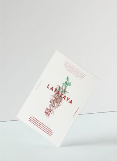 Latayaya Concept Store by Play&Type / Brand Identity / www.playandtype.com